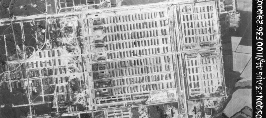 Ausschwitz Birkenau Luftbild