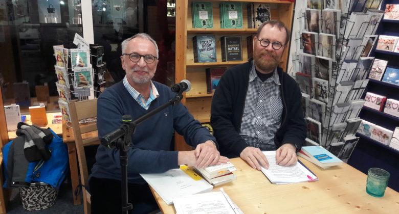 Wolfgang Komo und Dr. Markus Meinold gestaltenten den Hans-Siemsen-Abend