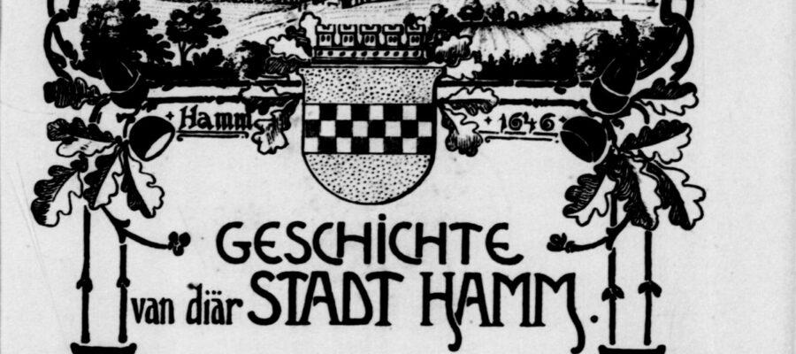 Geschichte von diär Stadt Hamm Titel