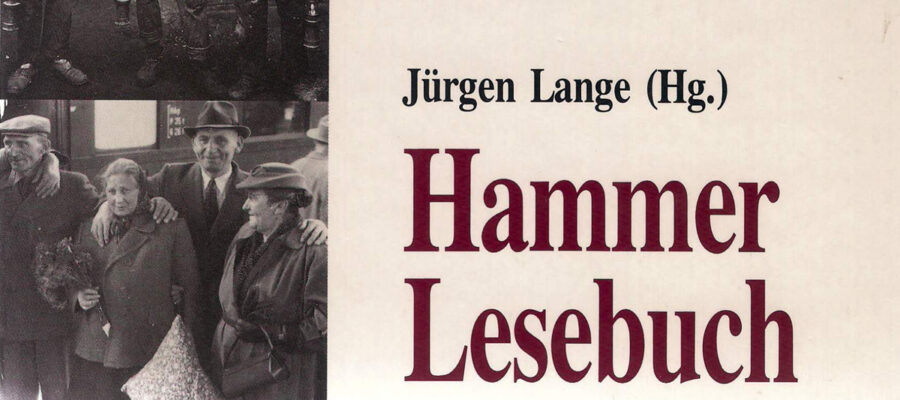 Jürgen Lange: Hammer Lesebuch
