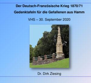 Vortrad Dr. Ziesing