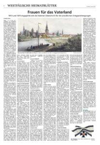 Artikel Westfälische Heimatblätter