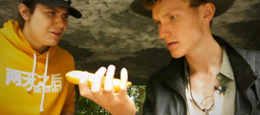 Screenshot Video: Jäger des gebogenen Schatzes